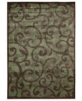 """MANUFACTURER'S CLOSEOUT! Nourison Area Rug, Expressions XP02 Brown 3' 6"""" x 5' 6"""""""