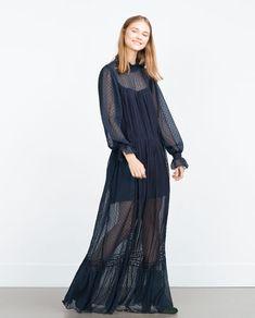 Image 1 of SHEER DRESS from Zara