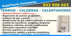 Reparación Calderas, Termos y Calentadores Poago, Gijón