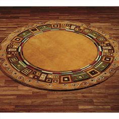 Area Rug Simple Round Rugs Contemporary On Non Skid