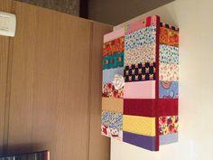 Caixa em patchwork