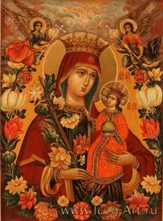 Изображение из буфера обмена (22) Religious Pictures, Religious Icons, Religious Art, Jesus And Mary Pictures, Queen Of Heaven, Blessed Mother Mary, Hail Mary, Holy Family, Orthodox Icons