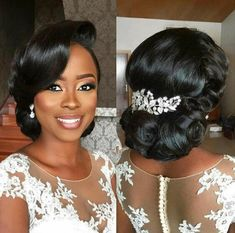 natural hair bun with weave wedding hairstyles Enchanting Natural H. - natural hair bun with weave wedding hairstyles Enchanting Natural Hair Bun with Weave - Natural Hair Bun Styles, New Natural Hairstyles, Curly Hair Styles, Beautiful Hairstyles, Natural Hair Brides, Natural Hair Weaves, Black Brides Hairstyles, Bride Hairstyles, African Wedding Hairstyles