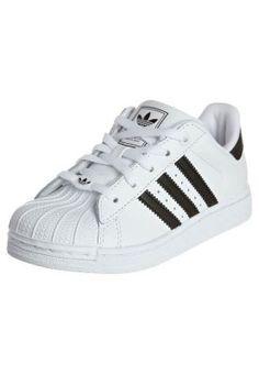 fb8e82326af adidas Originals SUPERSTAR 2 J Sneakers laag Wit Kinderen Lage sneakers  leer kinderschoenen kinder maat:
