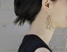 multi-triangle earrings