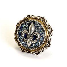 Sweet Romance™ French Quarter Fleur De Lis Ring