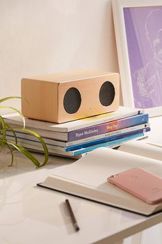 Shop Rose Gold Wireless Speaker at Urban Outfitters today. Pink Record Player, High Quality Speakers, Secret Santa Gifts, Wireless Speakers, Floating Nightstand, Cleaning Wipes, Urban Outfitters, Design Inspiration, Rose Gold
