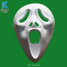 Creative sugarcane pulp halloween horror mask customized
