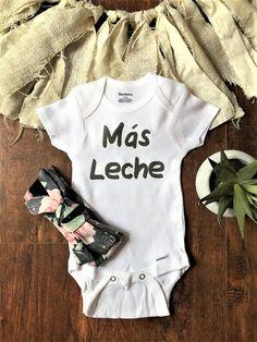 eeed9ba1 Mas Leche Baby Onesie, Mas Leche Onesie, Mas Leche, Spanish Onesie, Spanish  baby clothes, Spanish baby onesie, Spanish baby gifts, funny