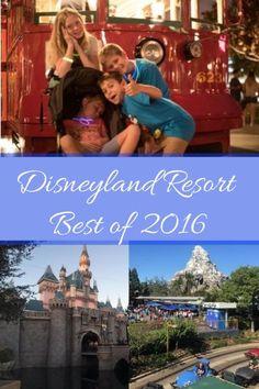 Disneyland Resort Best of 2016, top planning tips for your Disneyland vacation.