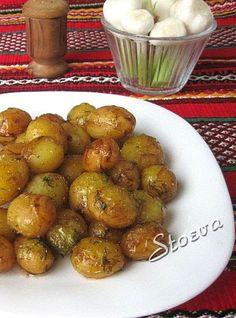 Храна за мойте канибали: Пикантни бейби картофки