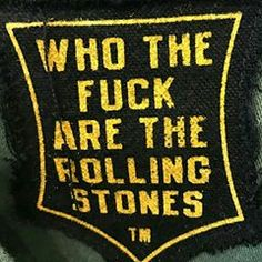 Tell me please! ☝ WTF are Rolling Stones Logo, Keith Richards, Tattoo You, Tell Me, Wellness, Tees, Quotes, Instagram, Quotations
