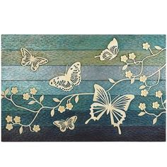 Love this pic. Not sure where I'd put it though. Carved Butterflies Wall Panel