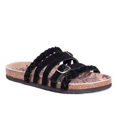 8c229e7d6ea9 Look what I found on  zulily! Oxford Black Terri Suede Sandal - Women