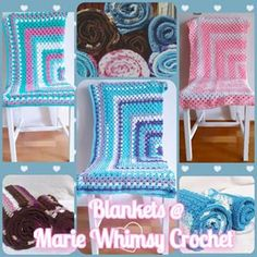 Populer Wall Decor Customized Design - Home Decor Wall Decor Populer Sales Lap Blanket, Granny Square Blanket, Crochet Gifts, Cushion Covers, Pink Blue, Blue Green, Custom Design, Unique Gifts, Shabby Chic