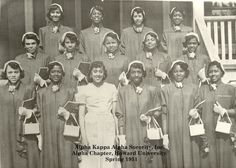 #AKA1908 Roxie Roker, top row, second from left.