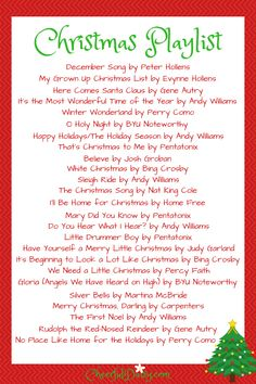 Awesome Christmas songs to add to your playlist! Awesome Christmas songs to add to your playlist! Christmas Playlist, Christmas Tunes, Christmas Mood, Little Christmas, Christmas Movies, Family Christmas, Christmas Song List, Xmas, Christmas Ideas
