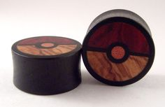 Organic Pokemon wooden plugs. OBVIOUSLY I need these as well.