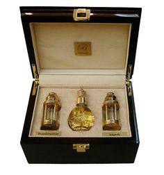 Gold, Frankincense and Myrrh gift box £125.00