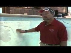 How to Refinish a Swimming Pool - watch this video then give Tye or Chad a call at WaterwisePools.com 281-455-7000 for help with refinishing your swimming pool (repair pool plaster, pool tile and coping repairs).