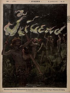 Jugend Magazine Cover, May 1,1897.