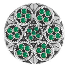 Ginger Snaps Mosaic- May Snap - Beautiful Emerald color!