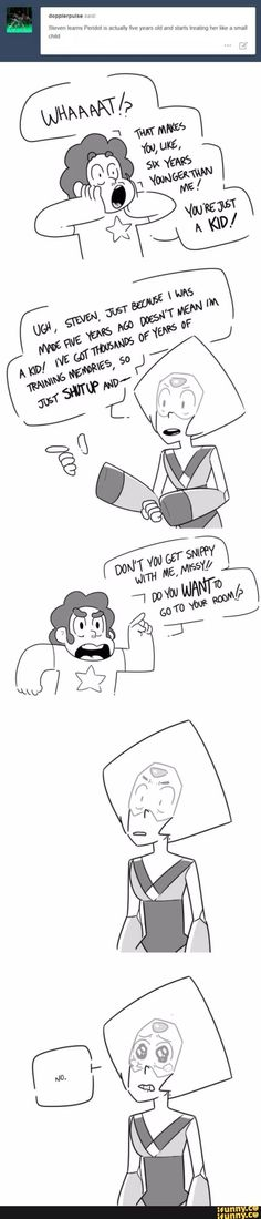 """This supports the """"Mission-Made Peridot"""" theory I pinned earlier... and it's super cute."""