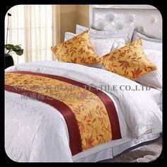 luxury hotel bed runner