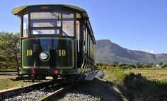 Franschhoek Wine Tram: hop-on hop-off wine tours by Cape Town wine tours operator Best Places To Vacation, Best Vacations, Travel Tours, Travel And Tourism, South African Wine, Wine Safari, Visit South Africa, By Train, Tour Operator