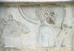 PORTADOR DE OBSEQUIOS,DE ORIGEN ETIOPE. KURDISTAN  MUSEO N.DE IRAN
