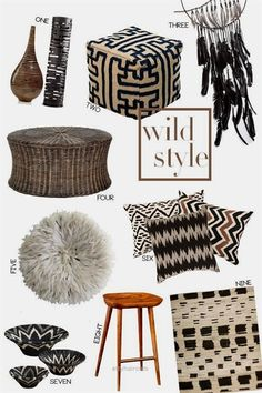 Global Chic Home Decor — Sentrell Interiors - Soulful Harmony - Wild Style: Global Home Decor - Global Decor, Global Home, Global Style, Ethnic Home Decor, African Home Decor, Home Design, Home Interior Design, African Bedroom, Ethnic Bedroom