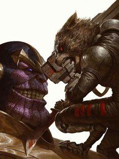 Новость: Звездный Лорд и Тор подерутся с Таносом