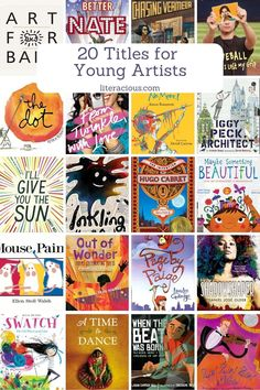 20 Titles for Young Artists