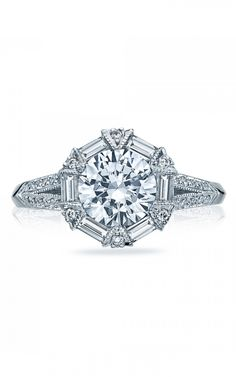 Tacori Engagement rings have always been the best in their class. Tacori 2525RD7 is no exception.