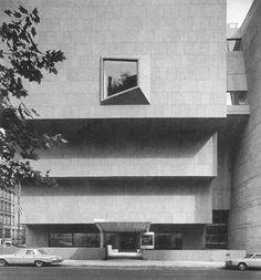 Whitney Museum of American Art by Marcel Breuer, New York