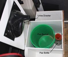 ProMaster DIY Camper Van Conversion -- DIY Composting Toilet