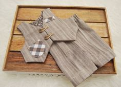 Newborn Photo Prop, Newborn Boy Outfit, Baby Boy Pants, Newborn Vest, Newborn Suit, Baby Picture Prop, Newborn Props, TAN, Photography Prop by LovelyBabyPhotoProps on Etsy