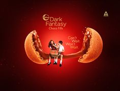 We have developed the concept of cookie and chocolate splash with combination of CG & Retouch as well as backplate also. Graphic Design Inspiration, Creative Inspiration, Ad Of The World, Print Ads, Brochure Design, Dark Fantasy, Art Lessons, Layout Design, Graphic Art