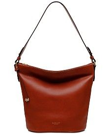 Buy Radley London Chestnut Dove Road Large Zip Top Bucket Bag from the Next UK online shop Large Crossbody Bags, Leather Crossbody, Radley, Clearance Shoes, Stitching Leather, Online Bags, Or Antique, Handbag Accessories, Smooth Leather