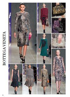 From Milan fashion show: BOTTEGA VENETA. #milan #catwalk #fashionshow #fashion #style #look #women #fall #winter #2014 #2015 #pretaporter #bottegaveneta @Bottega Hair Veneta