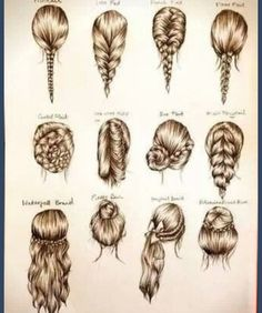 Multiple hairstyles to try!
