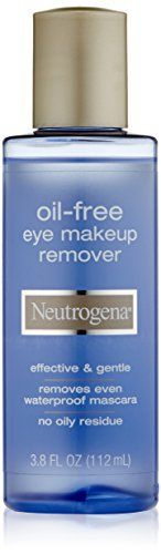 Oil-Free Eye #Makeup Remover takes off even waterproof eye makeup without leaving an oily residue.  Forget harsh tugging and pulling. This ultra-gentle dual phas...