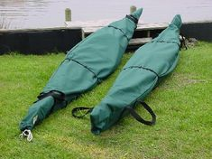 Cutting edge kayak, canoe and paddle covers