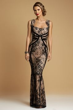 Rochie Lunga Sirena Couture Lace Aw 2017, Edwardian Dress, Evening Dresses, Formal Dresses, Black Tie, Dress Making, Mermaid, Couture, Lace