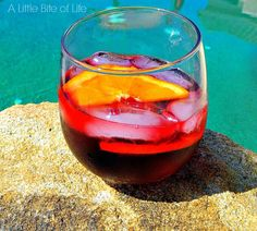 Lolailo Sangria Spritzer, Perfect Labor Day Cocktail! - A Little Bite of Life