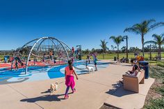 Best New Park for Kids and Dogs: Encinitas Community Park. #NoCo2015