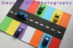 Jeu stationnement ( association couleur )