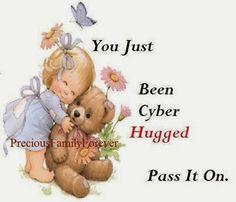 #cyberhugged