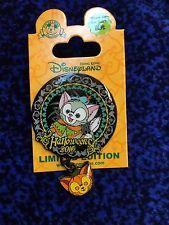 Hong Kong Disneyland Halloween 2016 Gelatoni LE500 Glow in the dark disney pin