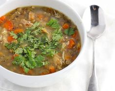 Fennel and Lentil Chicken Soup